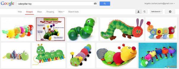 caterpillar toys